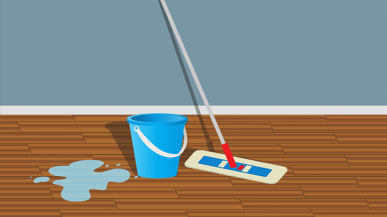 laminaatvloer reinigen